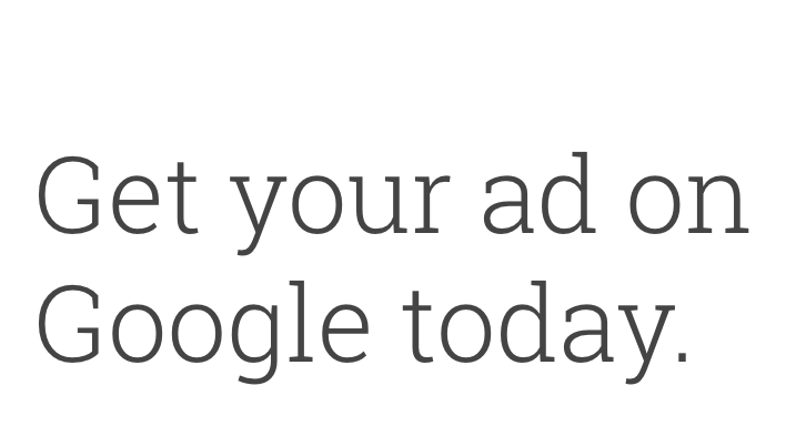 Google Adwords Sign Up