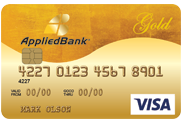Secured Visa Gold preferred  Credit Card | AppliedBank Credit Card
