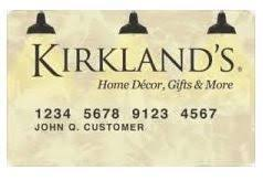 Kirkland's Credit Card