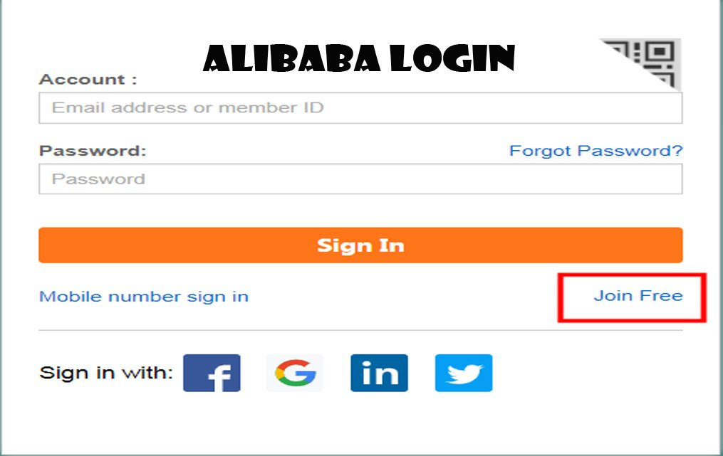Alibaba Login - How to Log in to Alibaba