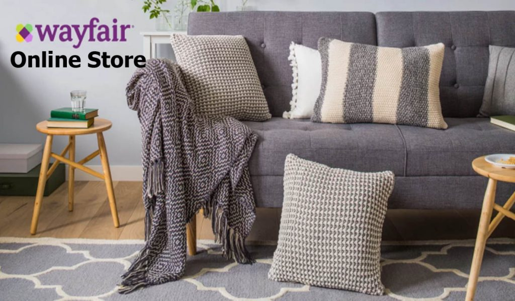 Wayfair Online Store - How to Sign Up