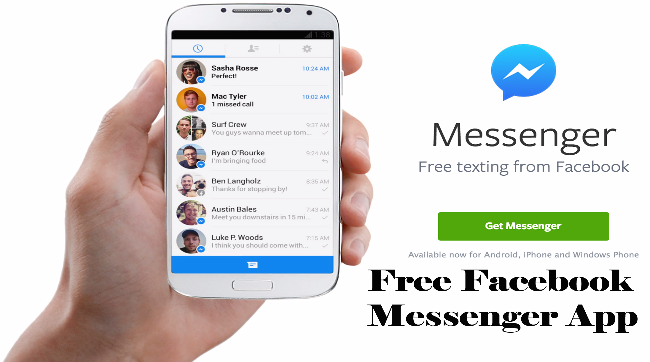 Free Facebook Messenger App - Facebook Messenger