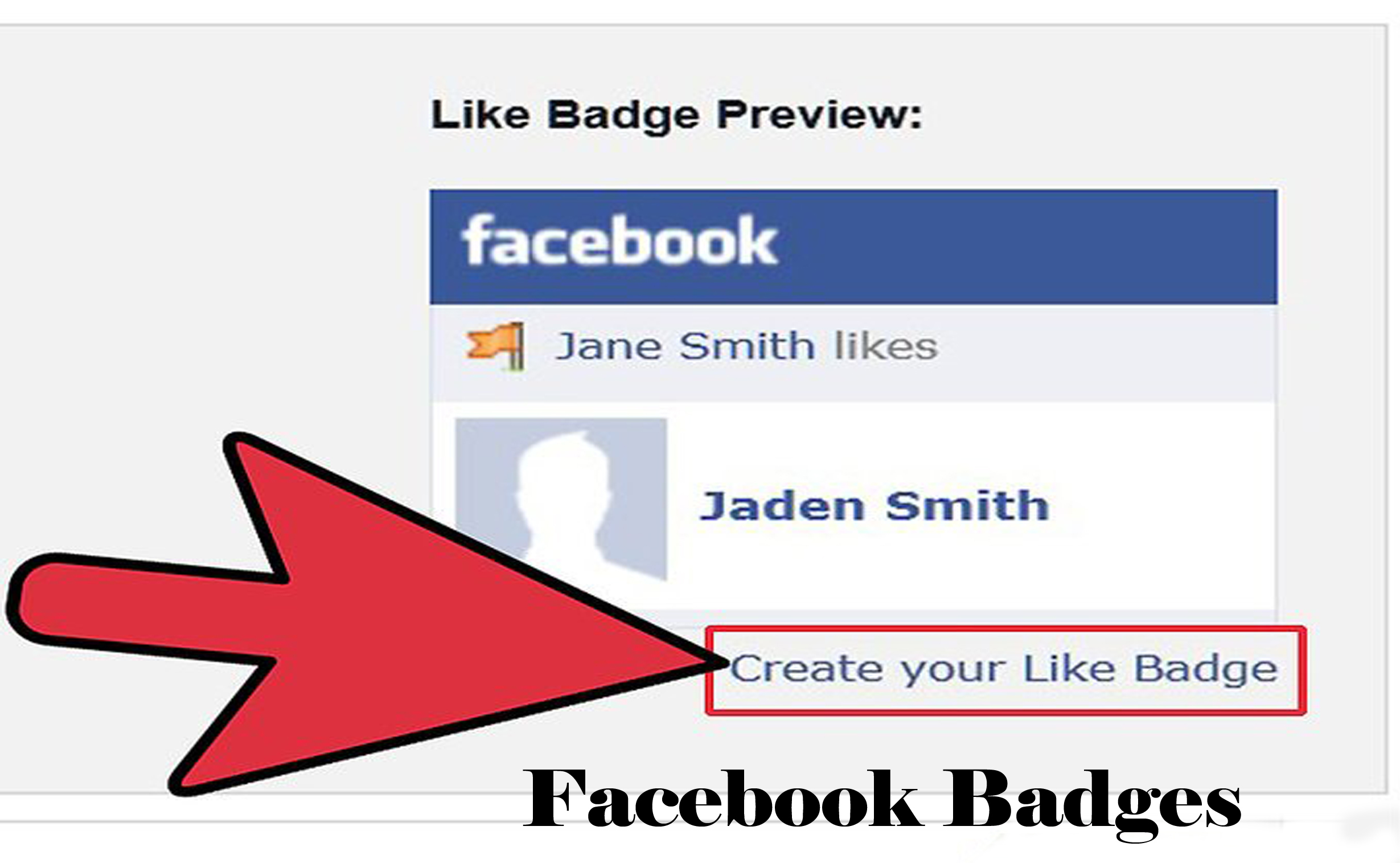 Facebook Badges - How to Create Facebook Badges