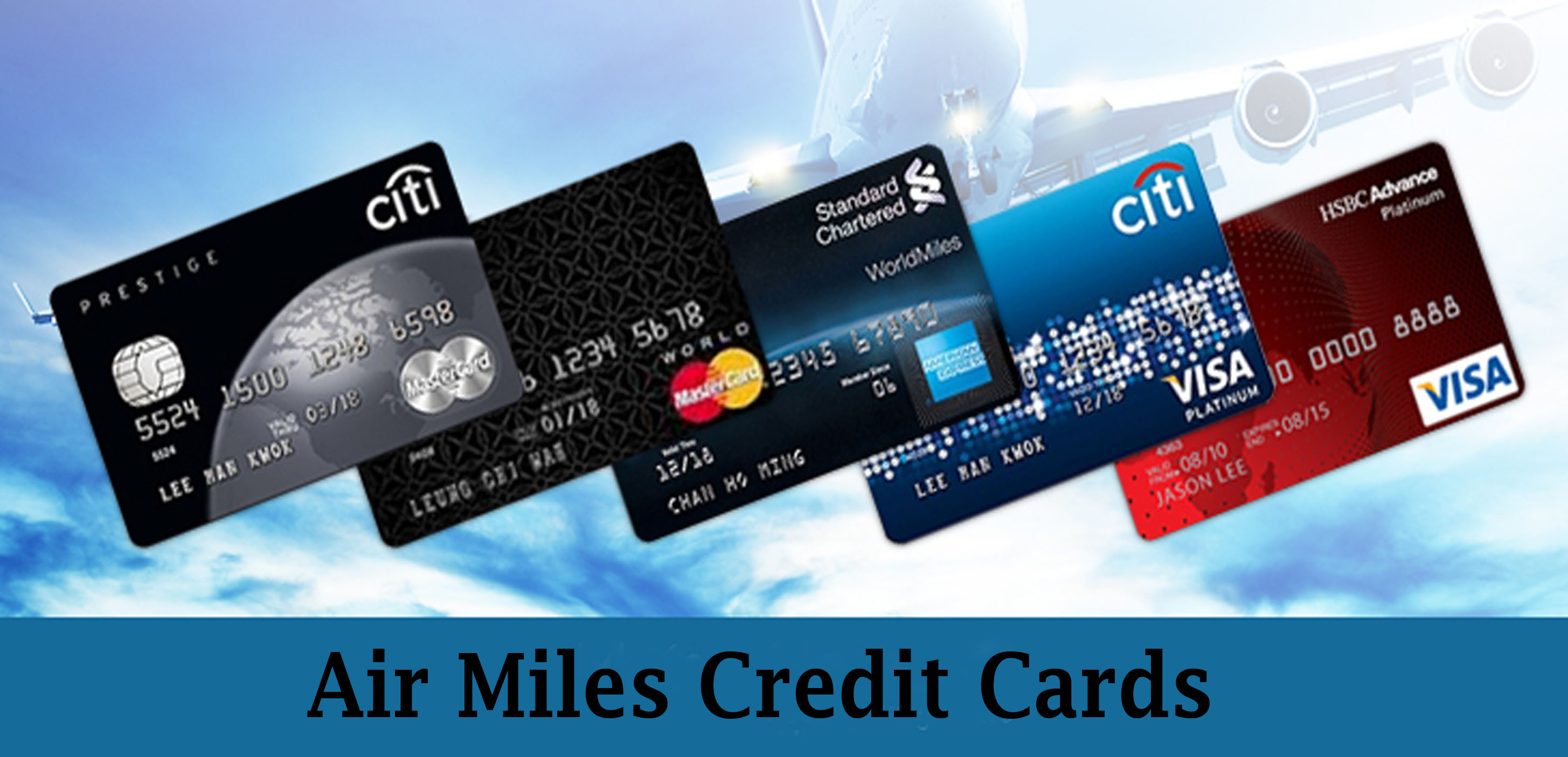 Air Miles Credit Cards - Features, Rewards and Benefits