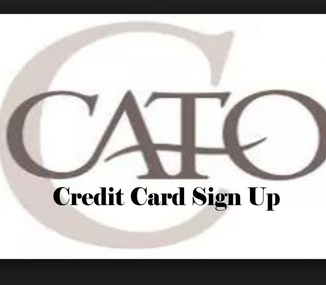 Cato Credit Card Sign Up - How to Create A Cato Card Account