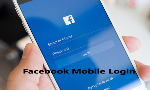 Facebook Mobile Login