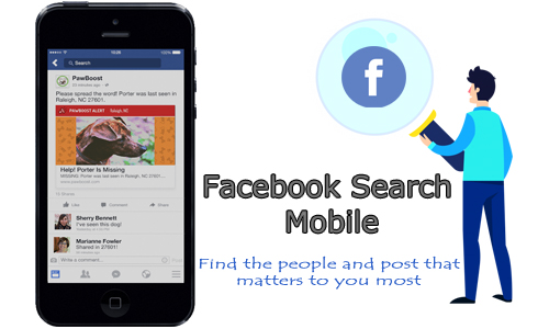 Facebook Search Mobile