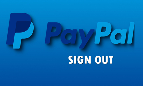 PayPal Sign Out