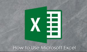 How to Use Microsoft Excel – Microsoft Excel | Beginners Guide