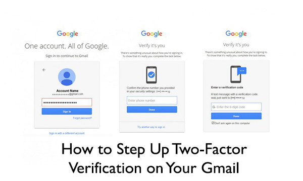 How to Step Up Two-Factor Verification on Your Gmail