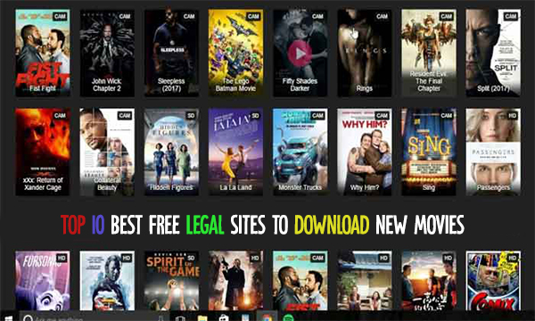 Top 10 Best Free Legal Sites to Download New Movies