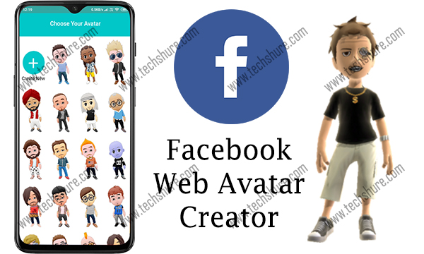 Facebook Web Avatar Creator