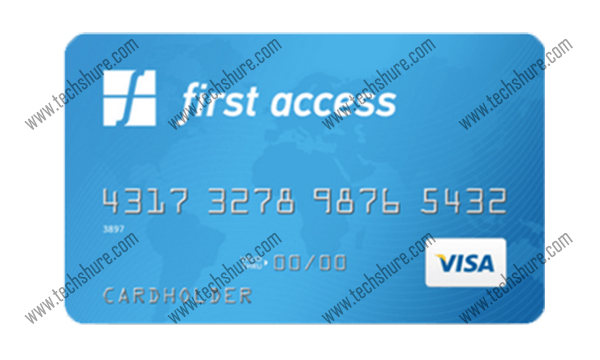 First Access Visa Credit Card